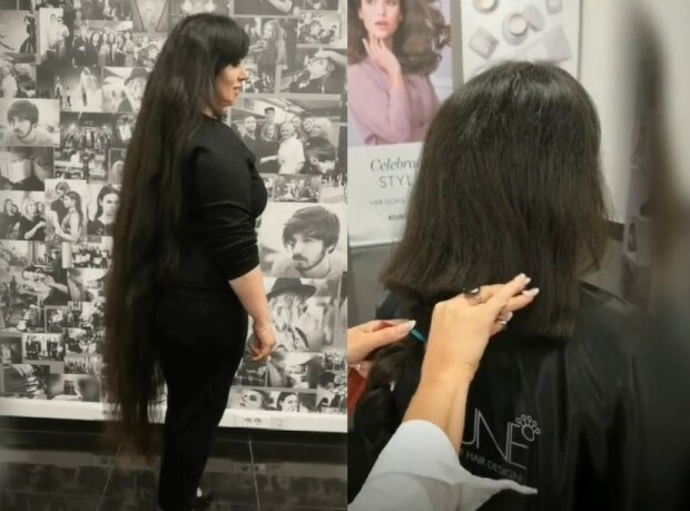 Mikádo namísto dlouhých vlasů: žena si ostříhala dlouhé vlasy a výsledek překvapil i mistra