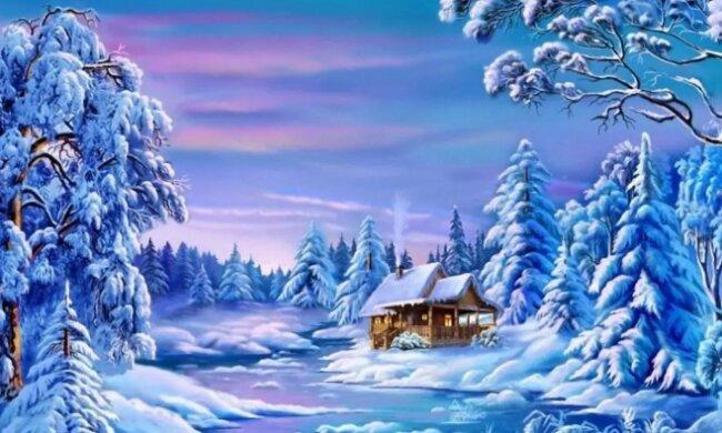 Psychologický test: Co podle vás  na obrázku zimní pohádky chybí