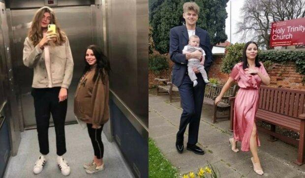 Tento neobvyklý pár lidé obdivují: Jak žijí dvoumetrový chlap a miniaturní dívka