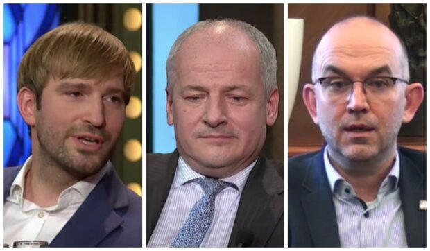 Adam Vojtěch, Roman Prymula a Jan Blatný. Foto: snímek obrazovky YouTube