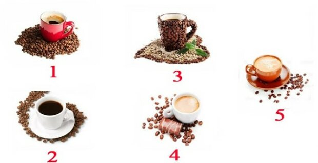 Který šálek se vám nejvíce líbí: vybraný šálek kávy vám řekne o vašich hlavních schopnostech