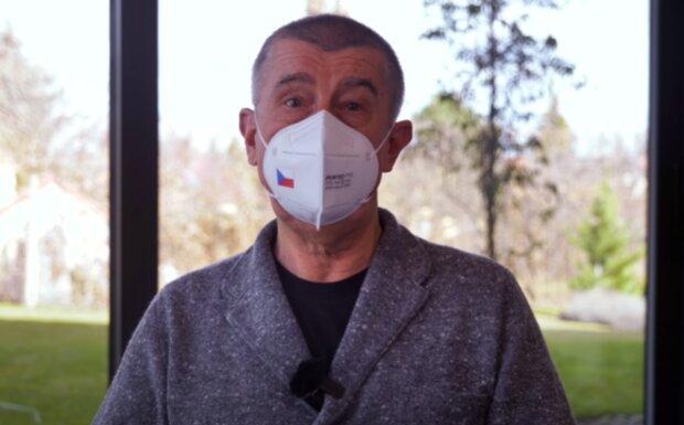 Andrej Babiš. Foto: snímek obrazovky YouTube